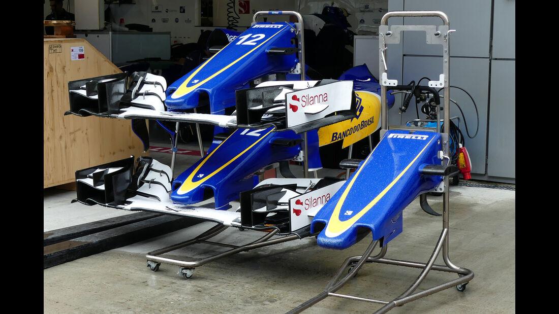 Sauber  - Formel 1 - GP Russland - 27. April 2016