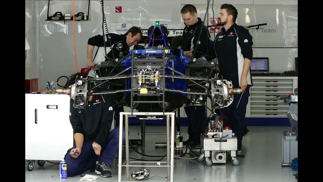 Sauber - Formel 1 - GP Russland - 28. April 2016