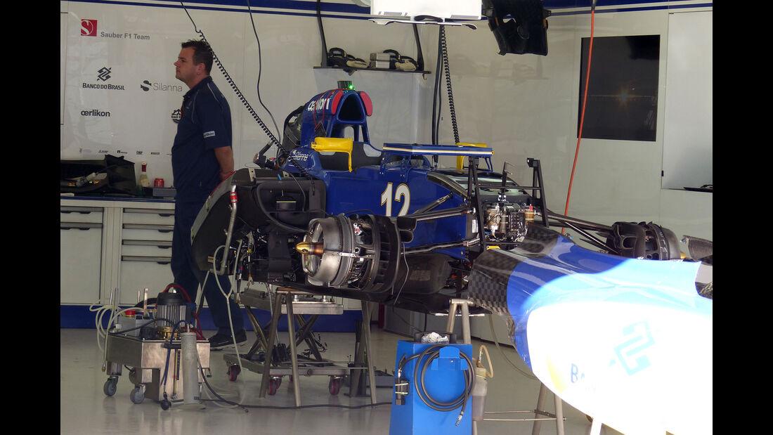 Sauber - Formel 1 - GP Russland - Sochi - Donnerstag - 8.10.2015