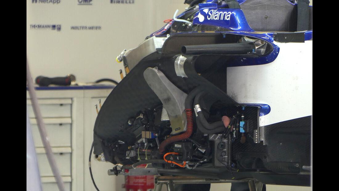 Sauber - Formel 1 - GP Russland - Sotschi - 26. April 2017