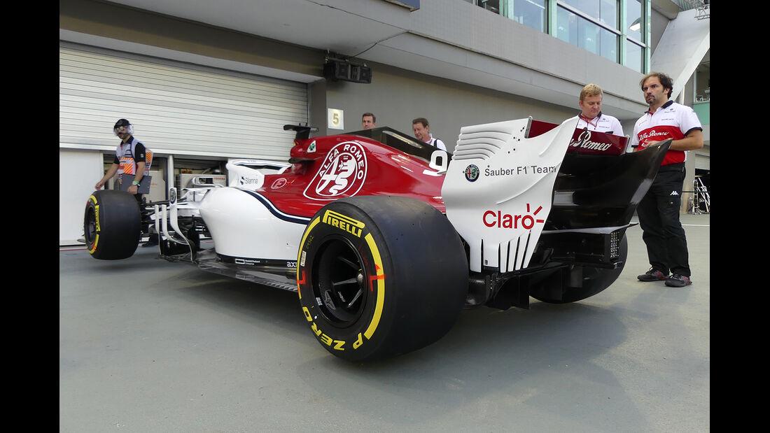 Sauber - Formel 1 - GP Singapur - 13. September 2018