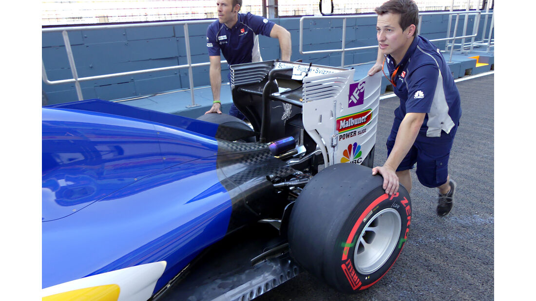 Sauber - Formel 1 - GP Singapur - 15. Septemberg 2016