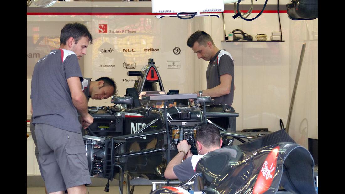 Sauber - Formel 1 - GP Singapur - 17. September 2014