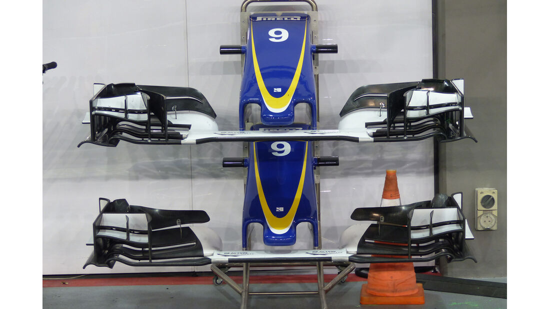 Sauber - Formel 1 - GP Singapur - 18. September 2015