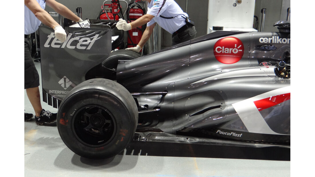 Sauber - Formel 1 - GP Singapur - 19. September 2013