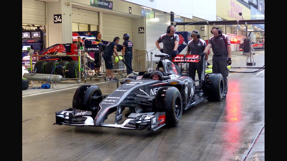 Sauber - Formel 1 - GP Singapur - 2. Oktober 2014