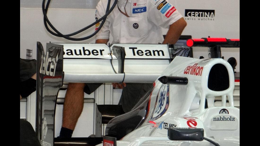 Sauber - Formel 1 - GP Singapur - 20. September 2012