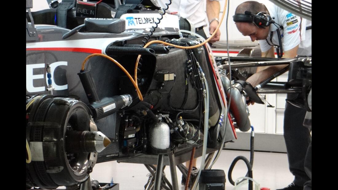 Sauber - Formel 1 - GP Singapur - 20. September 2013
