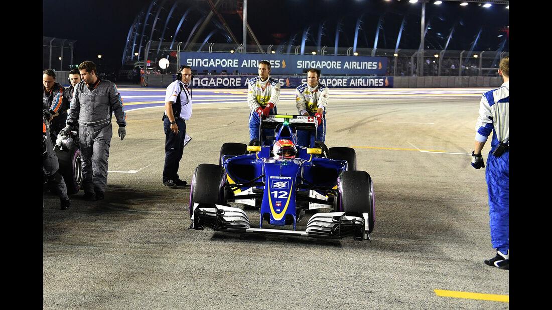 Sauber - Formel 1 - GP Singapur - 2016