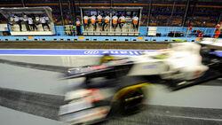 Sauber - Formel 1 - GP Singapur - 21. September 2012