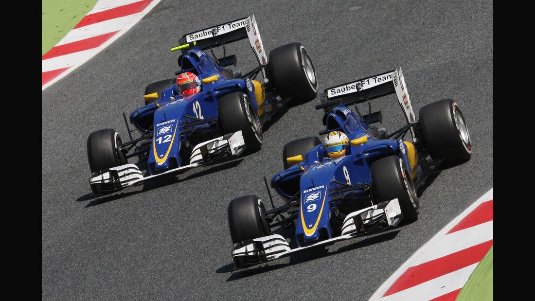 Sauber - Formel 1 - GP Spanien 2016