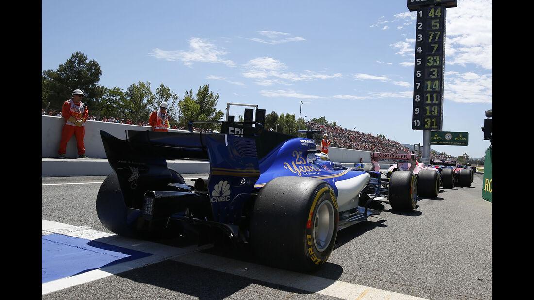 Sauber - Formel 1 - GP Spanien 2017