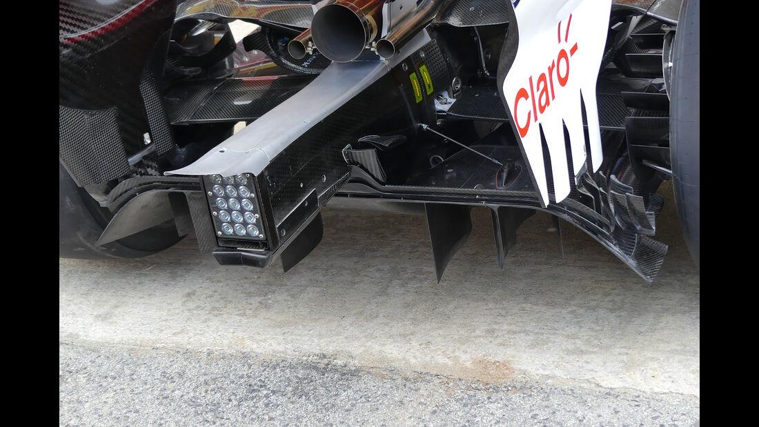 Sauber - Formel 1 - GP Spanien - Barcelona - 10. Mai 2018