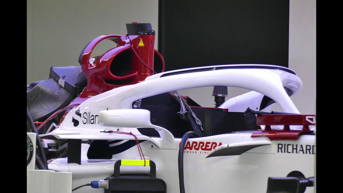 Sauber - Formel 1 - GP Spanien - Barcelona - 9. Mai 2018