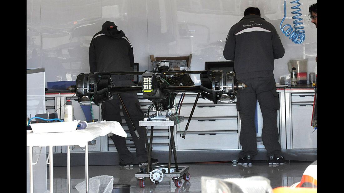 Sauber - Formel 1 - GP USA - Austin - 13. November 2013