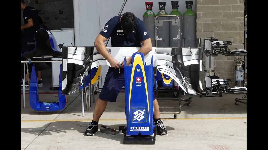 Sauber - Formel 1 - GP USA - Austin - 19. Oktober 2016