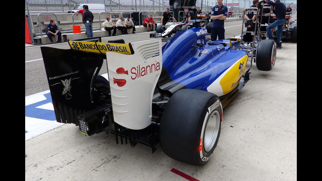 Sauber - Formel 1 - GP USA - Austin - 22. Oktober 2015