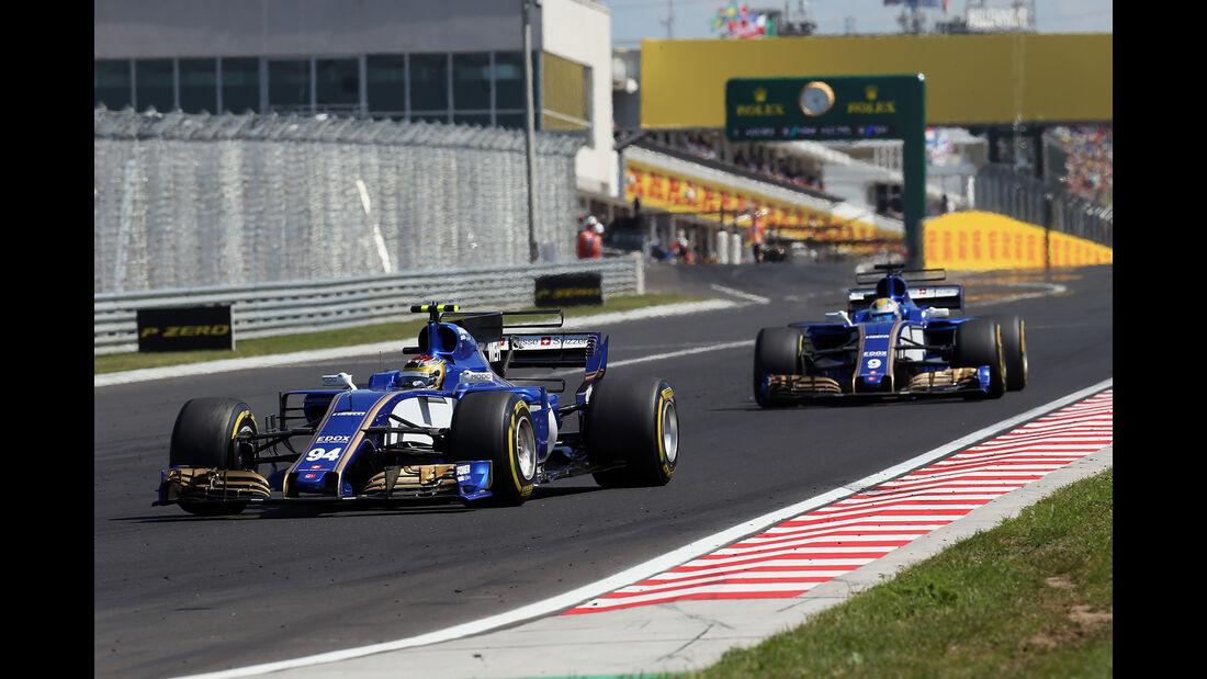 Sauber - Formel 1 - GP Ungarn 2017