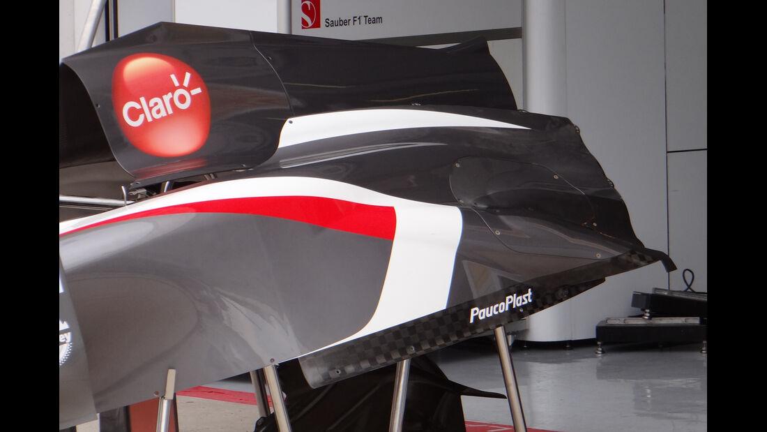 Sauber - Formel 1 - GP Ungarn - 25. Juli 2013