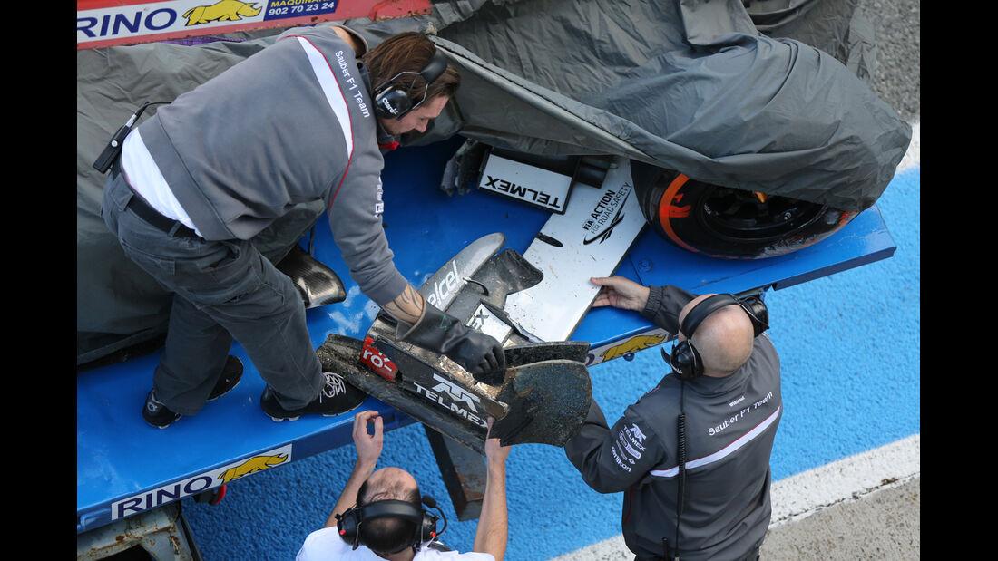 Sauber - Formel 1 - Jerez-Test 2014