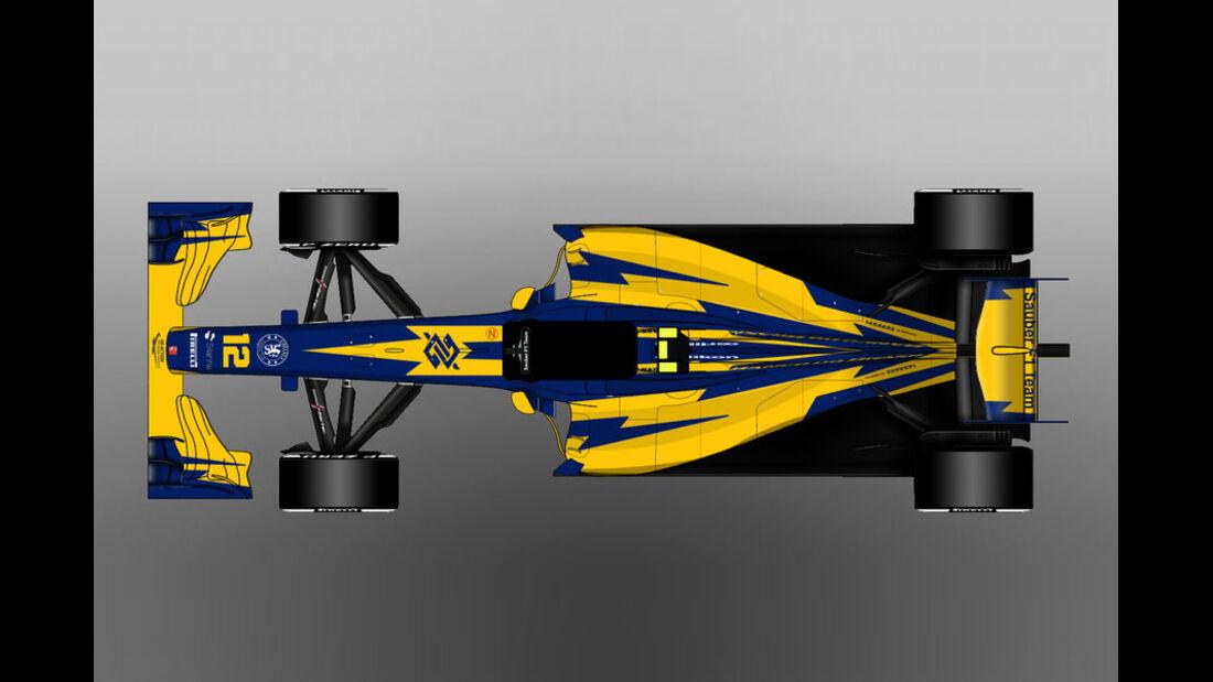Sauber - Formel 1 - Lackierung - Design-Concept