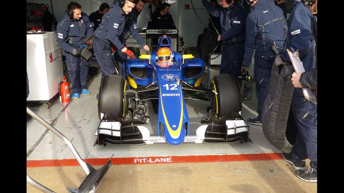 Sauber - Formel 1-Technik - Barcelona-Test 2 - F1 2015