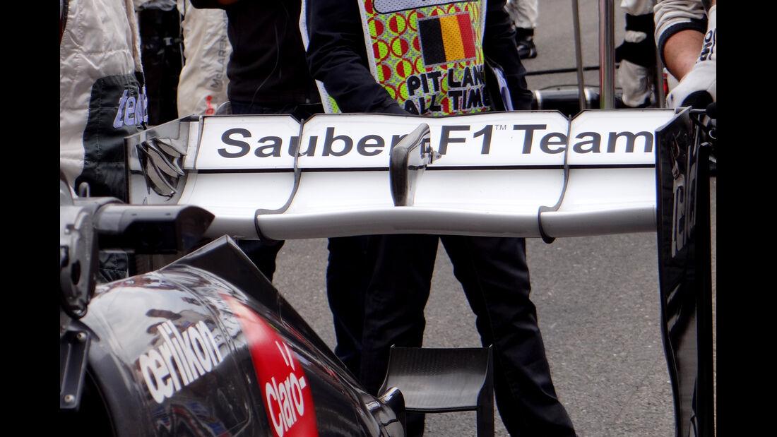 Sauber - Formel 1-Technik - GP Belgien 2013