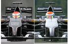Sauber - Formel 1 - Technik - GP Belgien 2014