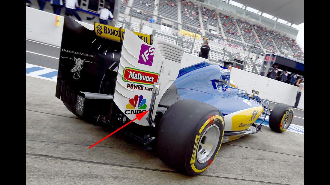 Sauber - Formel 1 - Technik - GP Malaysia / GP Japan - 2016