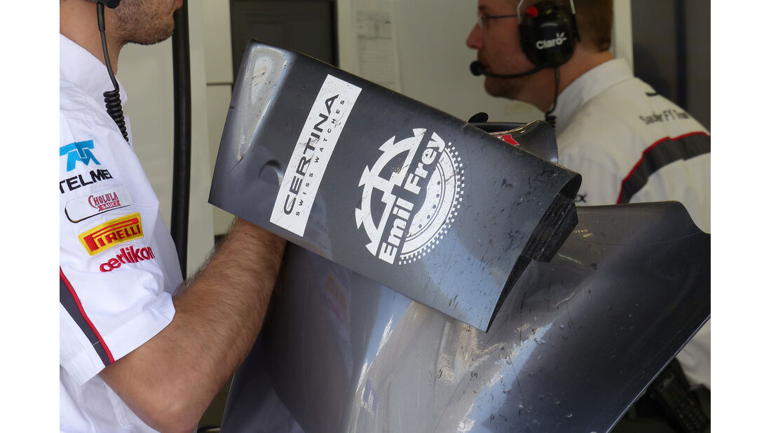 Sauber - Formel 1 - Test - Bahrain - 21. Februar 2014