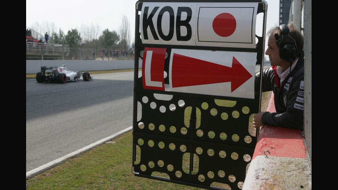 Sauber - Formel 1-Test - Barcelona - 2012