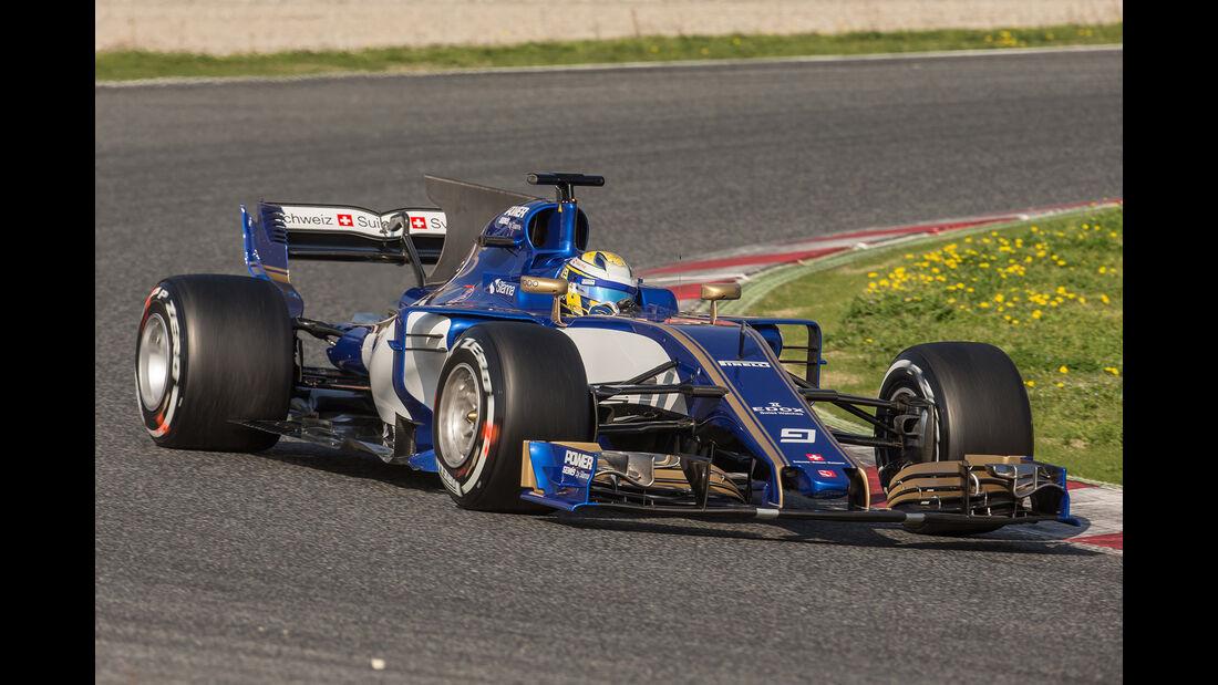 Sauber - Formel 1 - Test - Barcelona - 2017