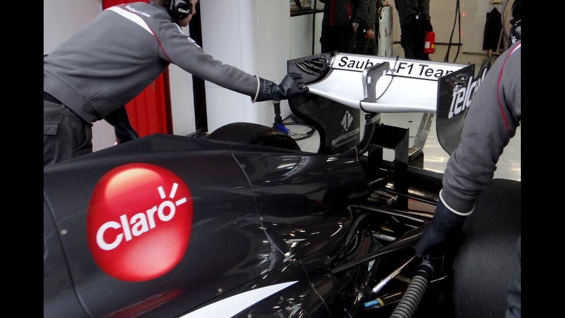 Sauber - Formel 1 - Test - Barcelona - 21. Februar 2013