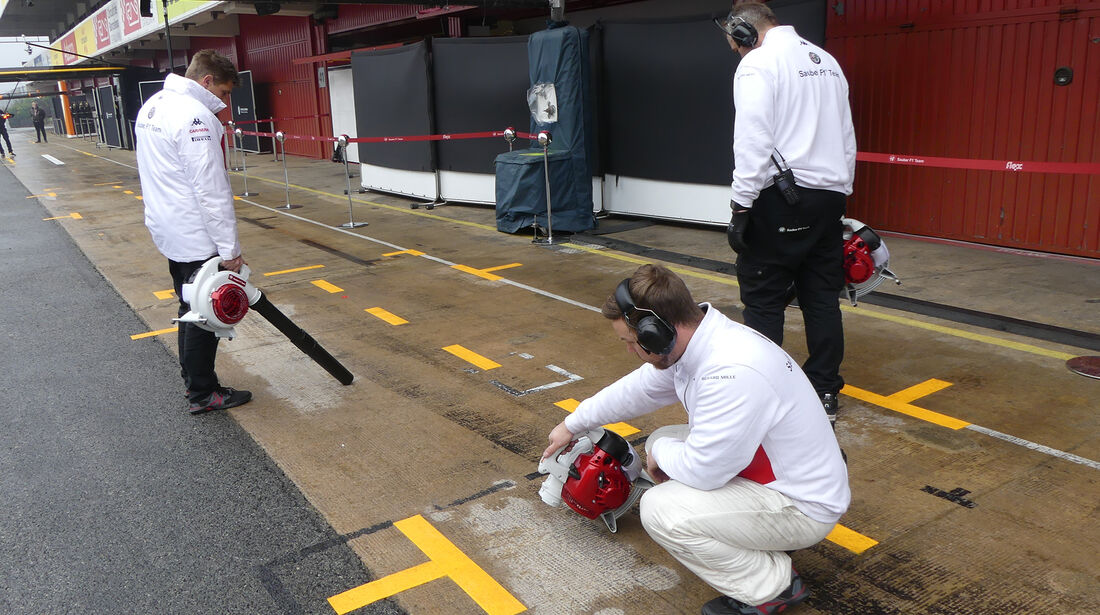 Sauber - Formel 1 Test - Barcelona - Tag 4 - 1. März 2018