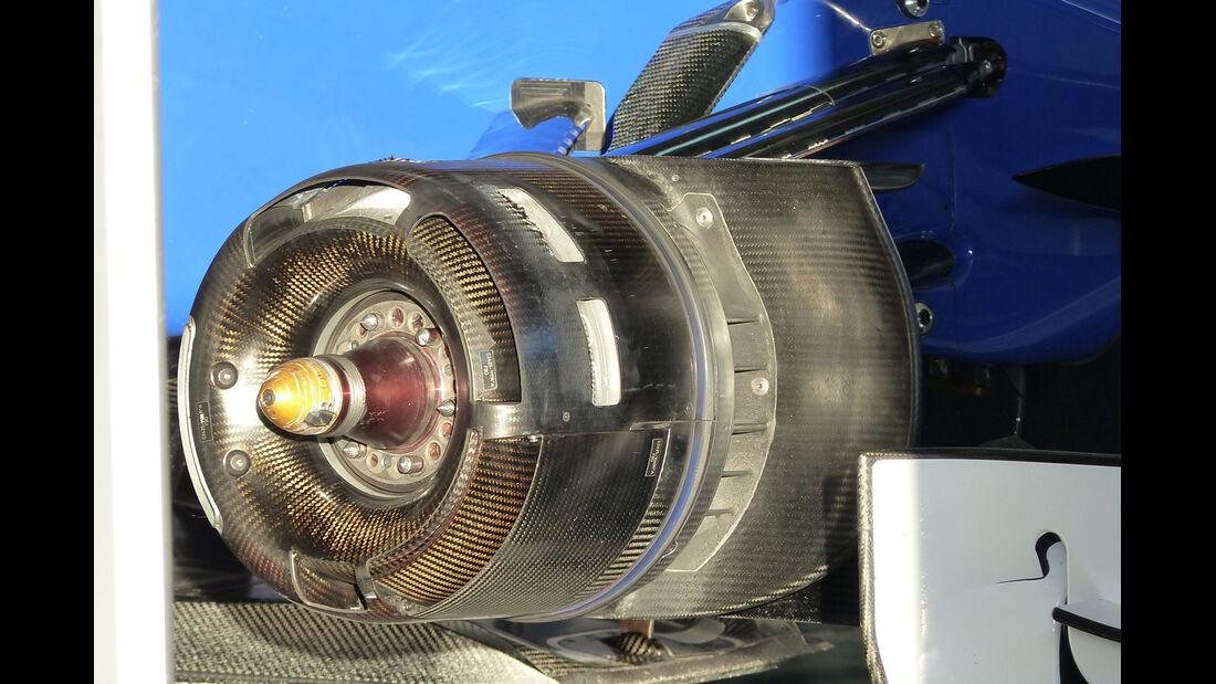 Sauber - Formel 1-Test - Jerez - 4. Februar 2015