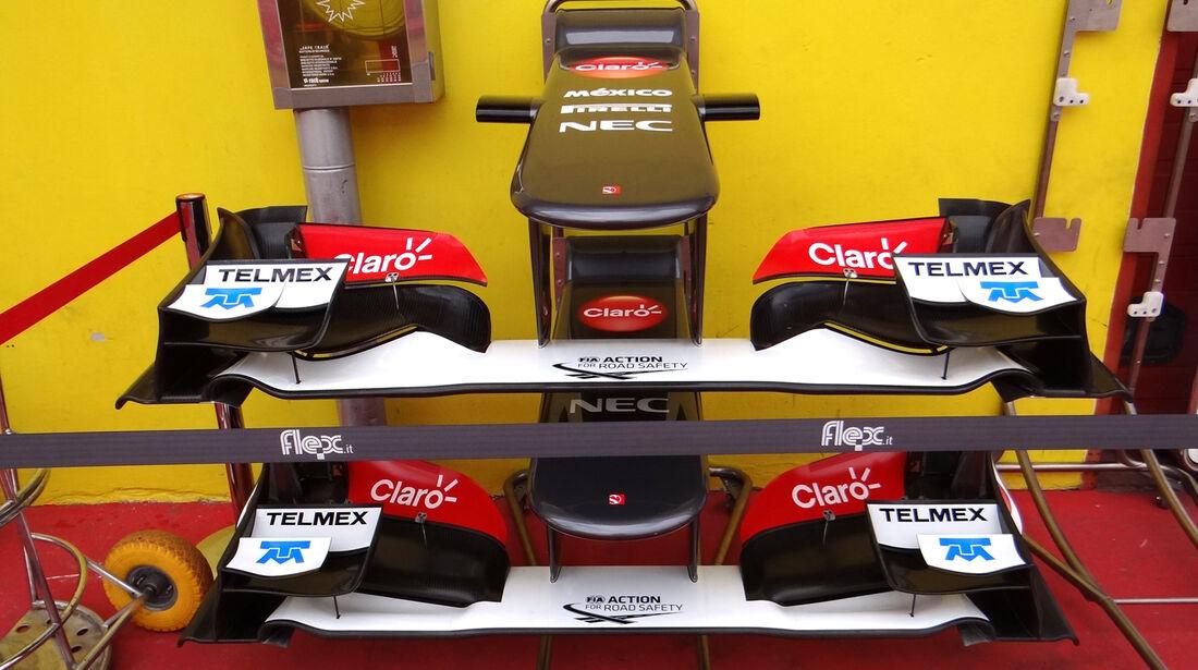 Sauber - Formel 1-Test - Mugello - 2. Mai 2012