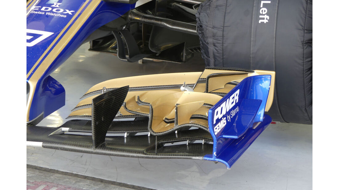 Sauber - Formel 1 - Testfahrten - Bahrain International Circuit - Dienstag - 18.4.2017