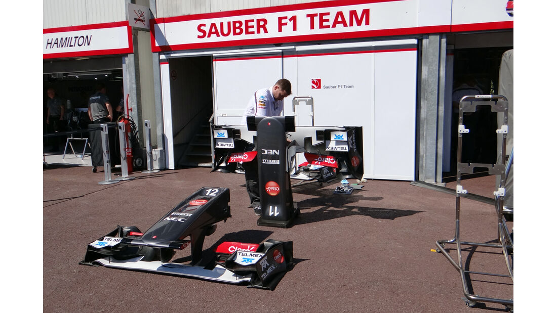 Sauber Frontflügel - Formel 1 - GP Monaco - 22. Mai 2013