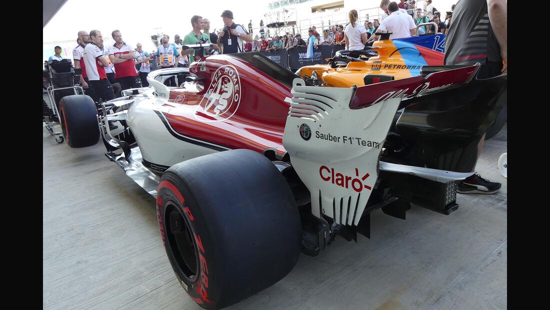 Sauber - GP Abu Dhabi - Formel 1 - 22. November 2018