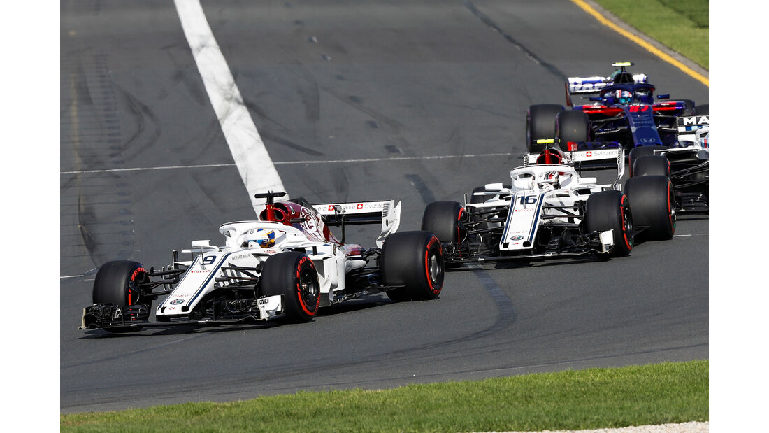 Sauber - GP Australien 2018