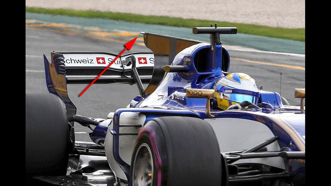 Sauber - GP Australien - Formel 1 - Technik - 2017