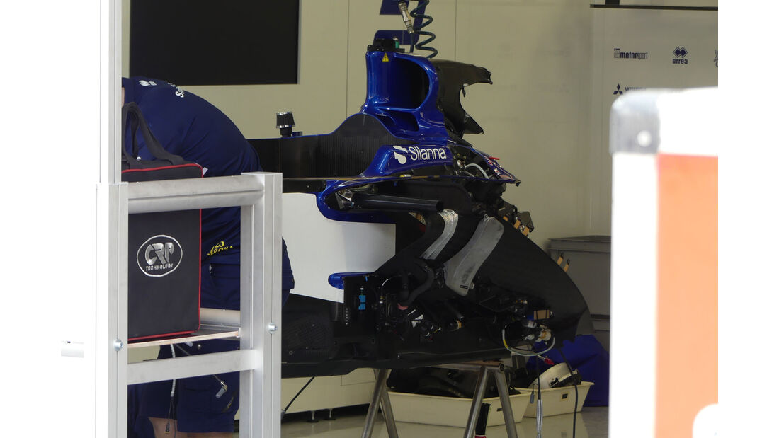 Sauber - GP Bahrain - Sakhir - Mittwoch - 12.04.2017
