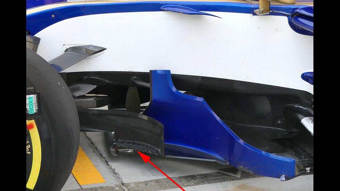 Sauber - GP Bahrain - Technik - Formel 1 - 2017