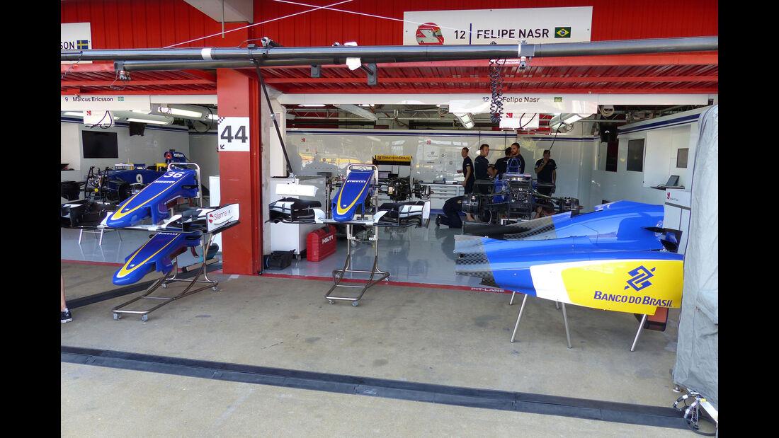 Sauber - GP Barcelona - Formel 1 - Mittwoch - 6.5.2015