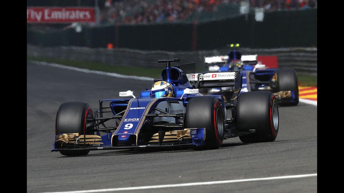 Sauber - GP Belgien 2017