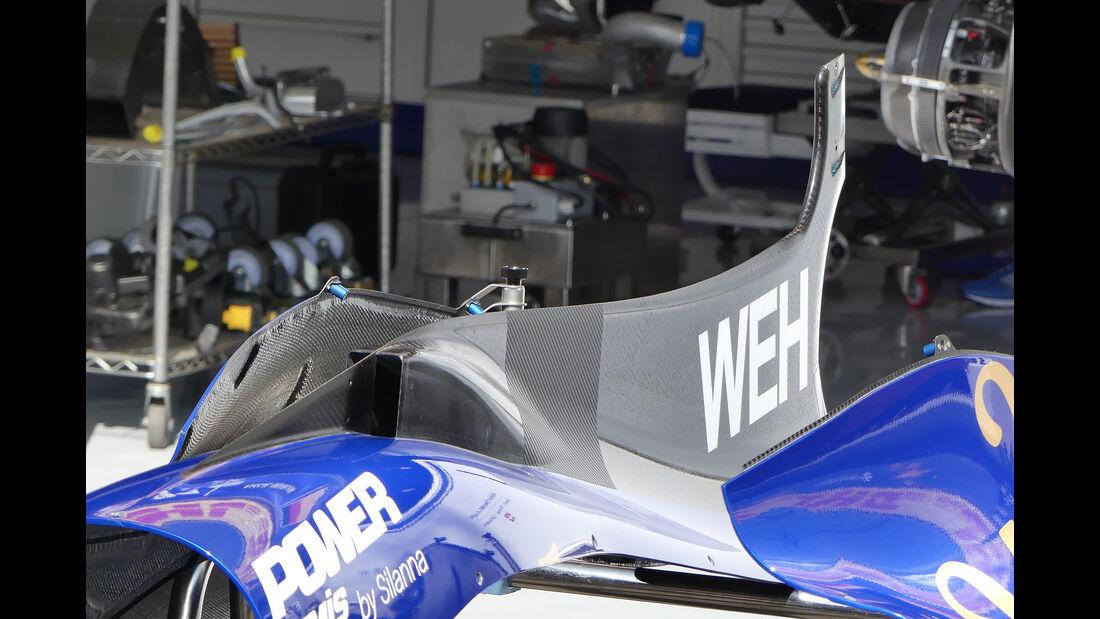 Sauber - GP Belgien - Spa-Francorchamps - Formel 1 - 23. August 2017