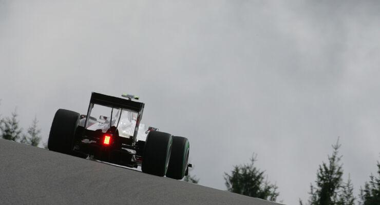 Sauber - GP Belgien