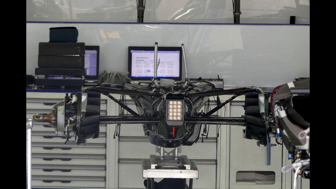Sauber - GP Brasilien 2016 - Sao Paulo - Interlagos - Mittwoch - 9.11.2016