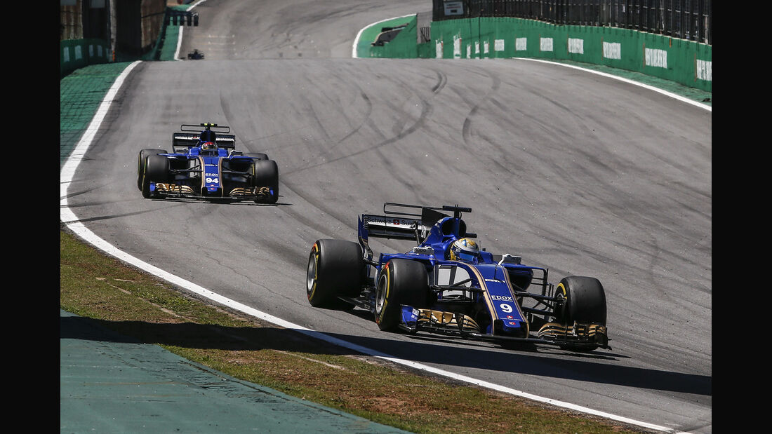 Sauber - GP Brasilien 2017
