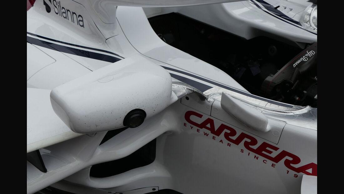 Sauber - GP Brasilien - Interlagos - Formel 1 - Donnerstag - 8.11.2018
